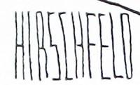 Al Hirschfeld Signature