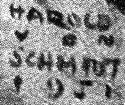 Harold Von Schmidt Signature