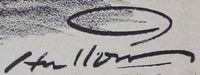 Hugh Hutton Signature