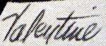 Boomy Valentine signature