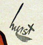 Earl Oliver Hurst signature