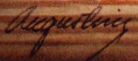 Edward Augustiny signature