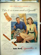 Cigarellos ad