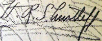 H R Shurtleff signature