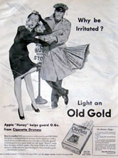 Old Gold Cigarettes Ad