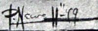 Peter Newell signature
