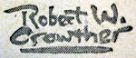 Robert W Crowther Signature