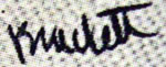 Ward Brackett signature
